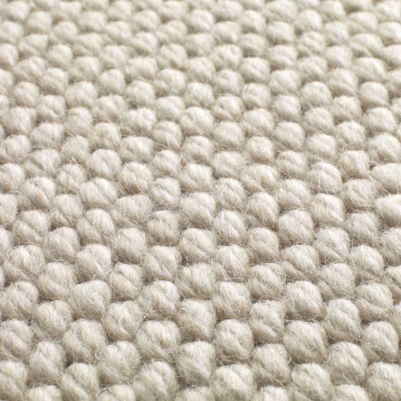 Natural Weave Hexagon Tapijten