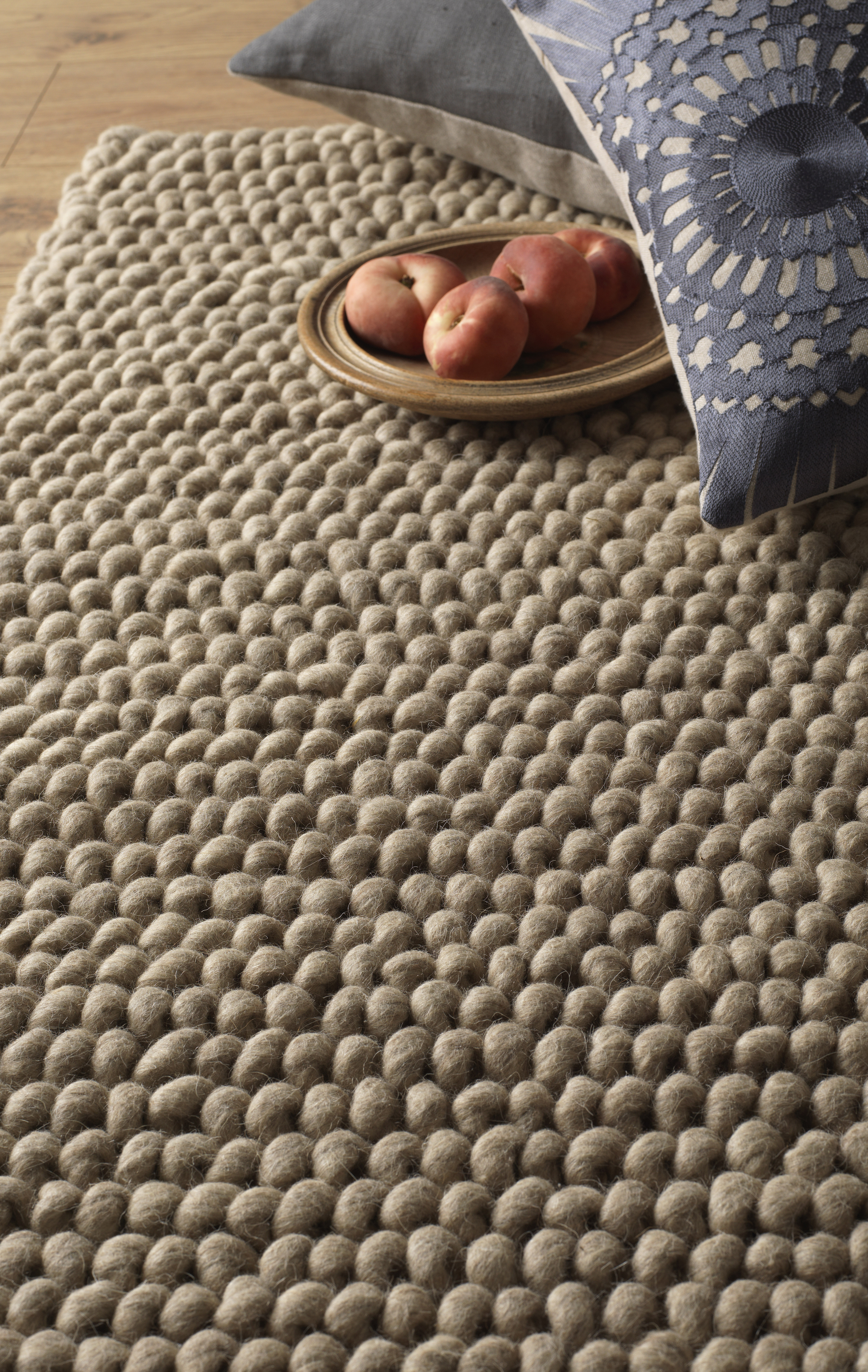Pebbles Hand Woven Pure Wool